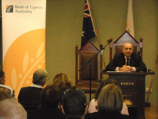 John Tripidakis at Bank of Cyprus Australia