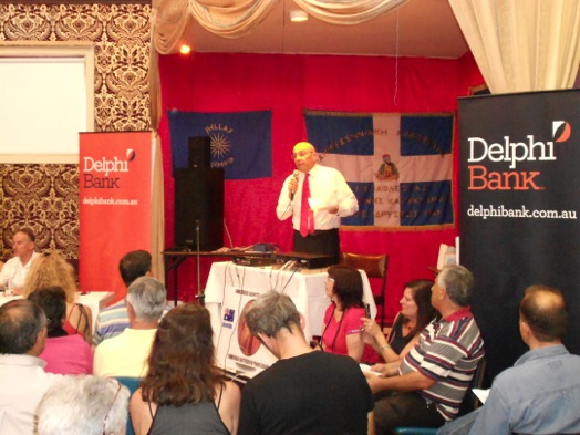 John Tripidakis at Delphi Bank